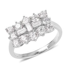 Collectors Edition RHAPSODY 950 Platinum IGI Certified Diamond (Rnd) (VS/E-F) Ring 2.000 Ct.