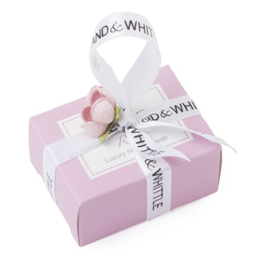 Heyland and Whittle Mini Favours Rose Handmade and Natural Jasmine and Lilac and Herbal Mint Soaps (45.00 Gms.)