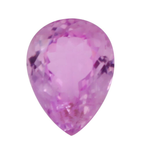 Kunzite (Pear 15.5x12 Faceted 3A) 11.420 Cts