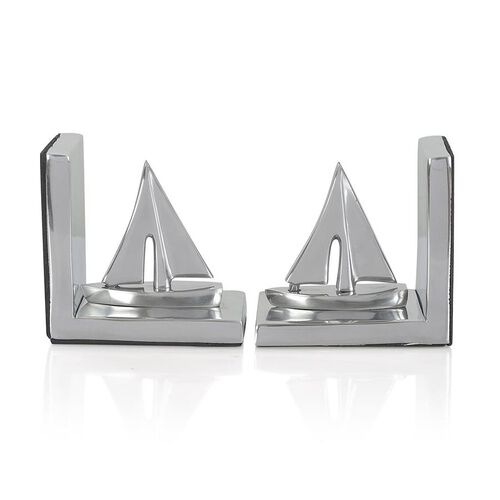 Home Decor - Boat Shape Aluminium Bookend