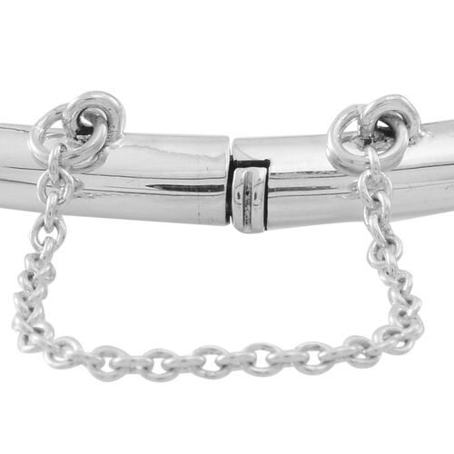 Designer Inspired Vicenza Collection Sterling Silver Bangle Silver wt 9.03 Gms.