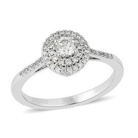 RHAPSODY 950 Platinum 0.50 Carat Diamond Ring (VS E-F)