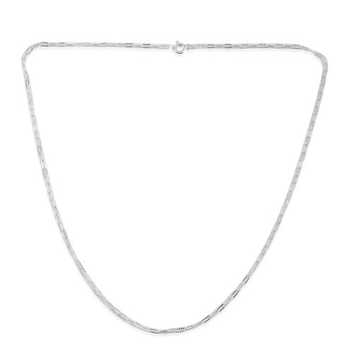 Close Out Deal Sterling Silver Necklace (Size 20)