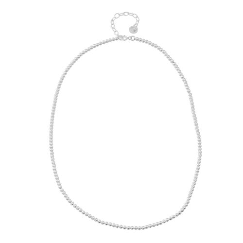 Vicenza Collection -Sterling Silver Chain (Size 18 with 2 inch Extender), Silver wt. 13.01 Gms.
