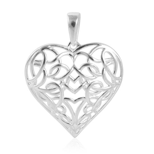 Sterling Silver Heart Shape Pendant