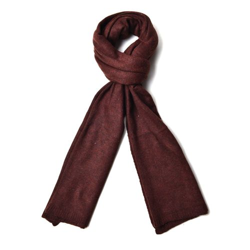 Brown Colour Scarf (Size 210x75 Cm)