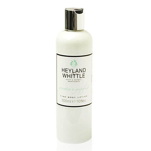 HEYLAND AND WHITTLE- Greentea and Grapefruit body scrub, body lotion