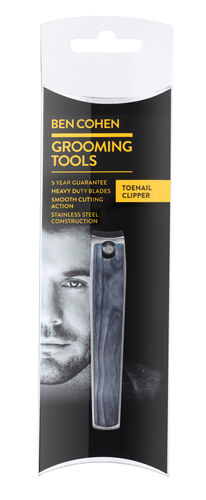 Ben Cohen 3 Piece Travel Kit- Toenail Clipper, Tweezer and 3 Way Nail Buffer