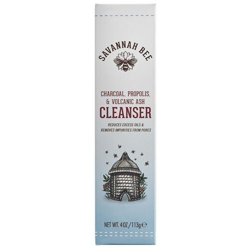 Savannah Bee Charcoal, Propolis and Volcanic Ash Cleanser 4 oz-   will be sent in 4-5 working days