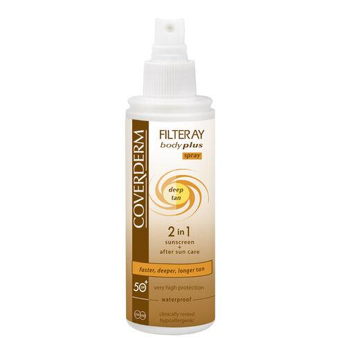 Coverderm Filteray Deep Tan- Milk SPF50 100ml