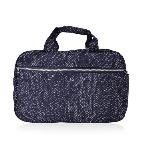 Lightweight Water Resistant Weekend Travel Bag with Adjustable Shoulder Strap (Size 47X31X20 Cm)