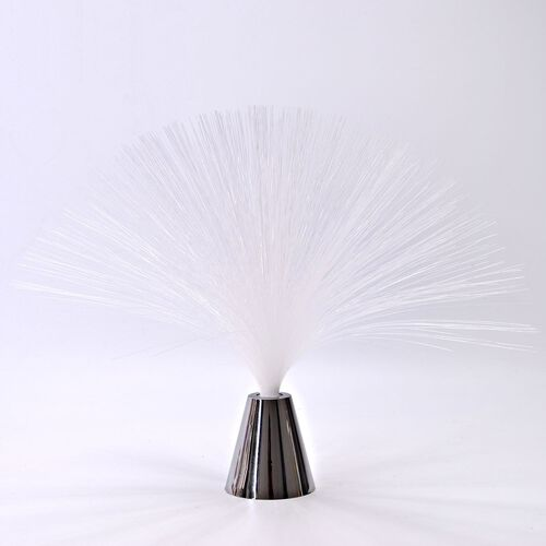 Home Decor - White Colour Mini Fibre Optic Light (Size 33X8 Cm)