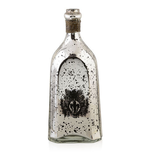 (Option-2) Home Decor - Black Colour Fancy Shaped Antique Style Wine Bottle