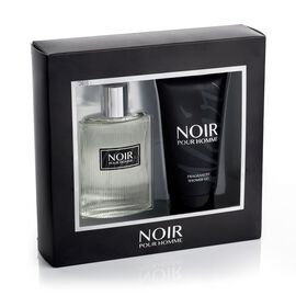 Noir Pour Homme by Prism Parfums 100ml EDT Shower Gel 150ml estimated dispatch 5-7 working days
