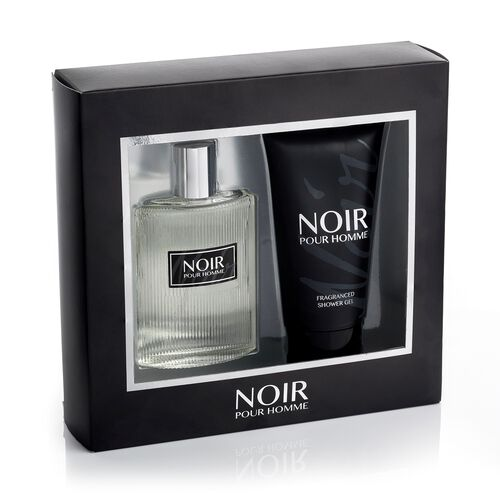 Noir Pour Homme by Prism Parfums 100ml EDT Shower Gel 150ml estimated dispatch 5-7 working days