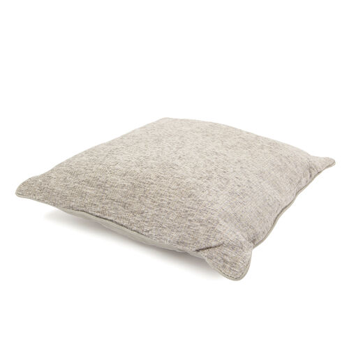 Tiles Pattern Grey Colour Cushion (Size 43x43 Cm)