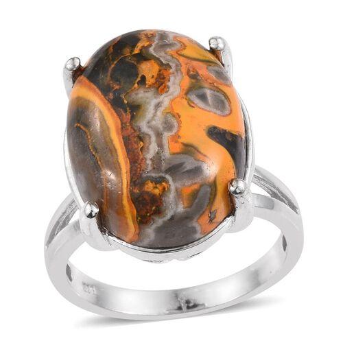 Bumble Bee Jasper Ring