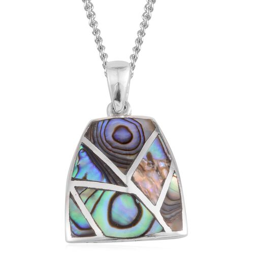 Limited Edition - JCK Vegas Abalone Shell Pendant with Chain in Sterling Silver