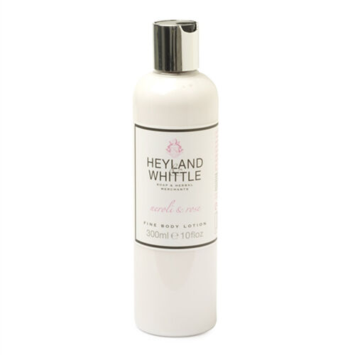 HEYLAND AND WHITTLE- Neroli and Rose Body scrub, body lotion, org soap, hand cream