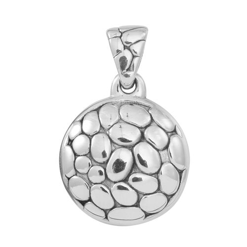 Statement Collection Sterling Silver Pendant, Silver wt 4.53 Gms.