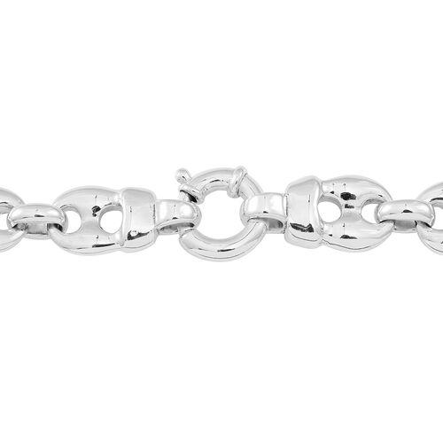 Designer Inspired Silver Mariner Necklace (Size 19), Silver 45.80 Gms.