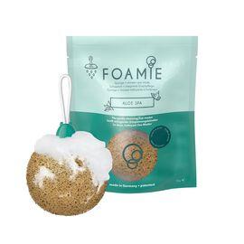 Foamie - Aloe Spa Natural Foaming Cream Cleanser and Exfoliator