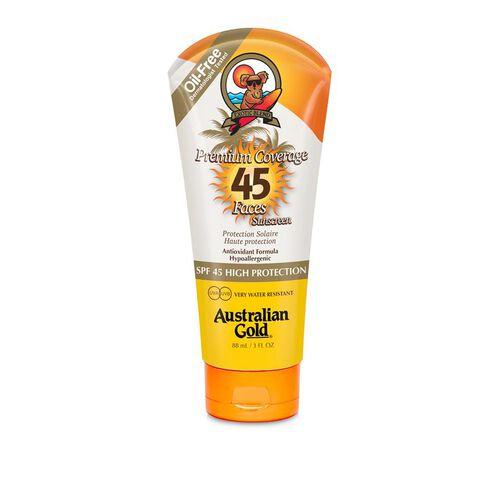 AUSTRALIAN GOLD- SPF 45 Sheer Faces 88ml
