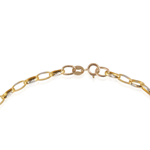 Close Out Deal 9K Yellow Gold Chain (Size 20), Gold Wt. 6.30 Gms.