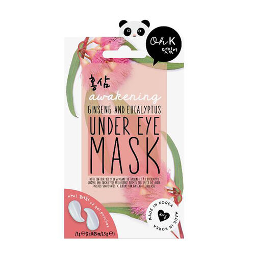 OH K-  Sleep Mask and Ginseng and Eucalyptus Under Eye Mask 1.5 Gm