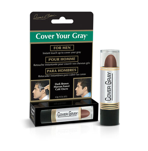 CYG Mens Touch-up Stick -- Dark Brown- Set of 2 (4.2 gm)