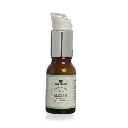 (Option 2) Just Herbs Gotukula Indian Ginseng Rejuvinating Beauty Elixir (15 ml)