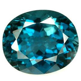 London Blue Topaz (Ovl 20x15 Faceted 4A) 21.000 Cts