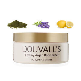 Alicia Douvall- Argan Body Butter 240ml Kelp, Lavender and Lemon- Estimated delivery within 5-7 working days