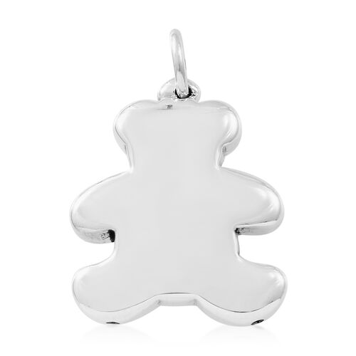 Thai Sterling Silver Teddy Bear Pendant