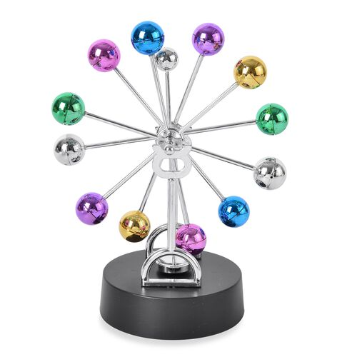Multi Colour Electronic Perpetual Motion Toy