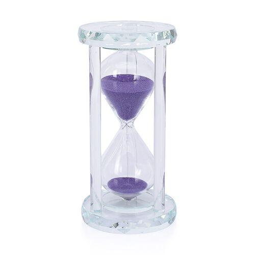 Egg Timer Clock (20 Minute) - Purple Sand