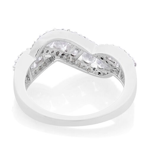 9K White Gold SGL Certified Diamond (Rnd) (I3 G-H) Ring 1.000 Ct.