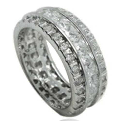 Simulated Diamond Eternity Rings Uk