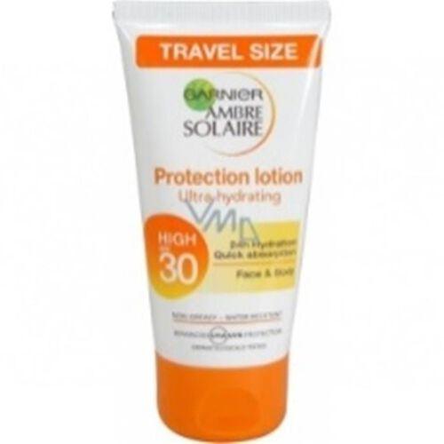 Garnier Ambre Solaire Ultra-hydrating Sun Cream SPF30 50ml Travel