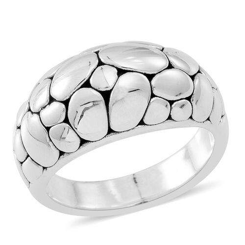Statement Collection Sterling Silver Ring, Silver wt 3.78 Gms.