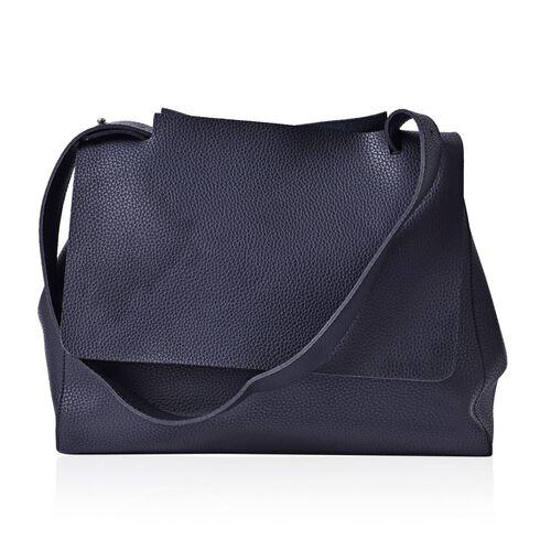 Marley Carryall Black Colour Shoulder Bag with Adjustable Strap (Size 37x31x14 Cm)