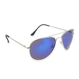 Aviator Blue Mirror Sunglasses