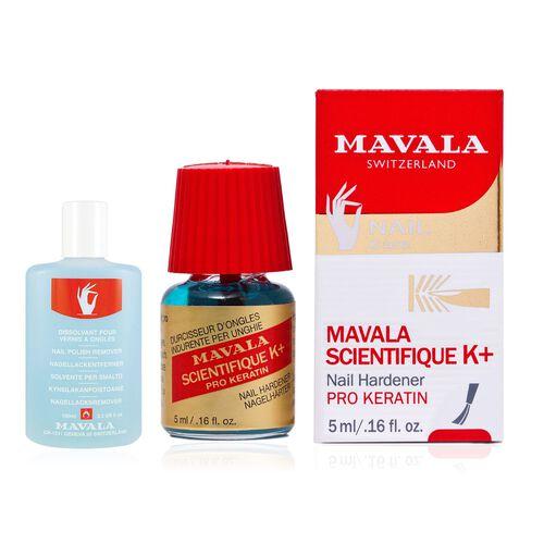 MAVALA- Scientifique K  with free 50ml Blue Nail Polish Remover