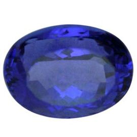Tanzanite Oval 9.89x7.98 Faceted 3.300 Cts