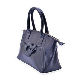 Black Colour Tote Bag (Size 39x24x13 Cm)