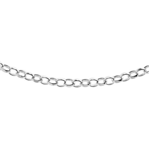 Vicenza Collection Sterling Silver Chain (Size 16), Silver wt. 4.56 Gms.