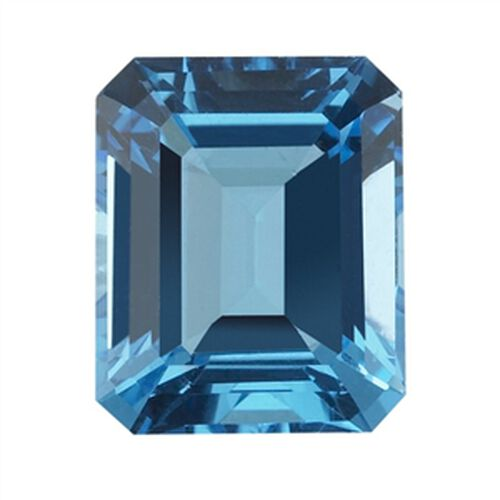 Electric Blue Topaz (Oct 16x12 Faceted 4A) 12.000 Cts