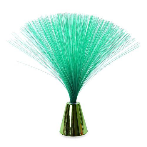 Home Decor - Green Colour Mini Fibre Optic Light (Size 33X8 Cm)