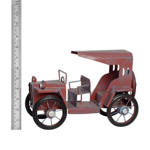 Home Decor - Red Colour Handmade Long Vintage Car
