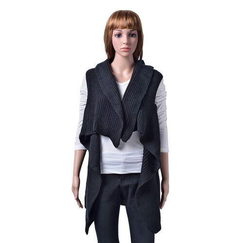 Black Colour Cardigan (Free Size)